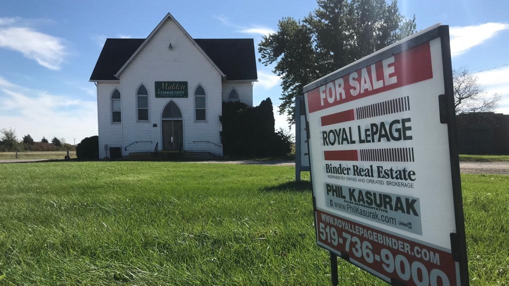 White church for sale