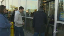 Nova Scotians line up to purchase pot