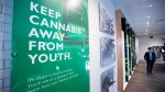 The inside of British Columbia's first legal cannabis store is pictured in Kamloops, B.C. Wednesday, Oct. 17, 2018. (THE CANADIAN PRESS/Jonathan Hayward)