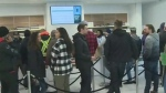 Legalization brings out big crowds to pot stores