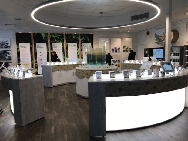 Inside the first BC Cannabis Store
