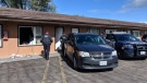 Police executed a search warrant at a motel in Cambridge.