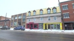 This apartment building in Pointe-Saint-Charles has been evacuated for the second time.