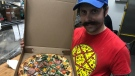 Windsor chef Dean Litster of Armando's Pizza won the chef of the year honour at the Canadian Pizza Summit. (Angelo Aversa / CTV Windsor)