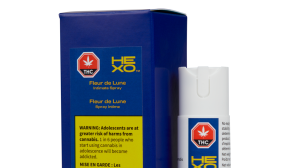 The Fleur de Lune Intimate Spray was initially mislabelled on the Ontario Cannabis Store website. (OCS)