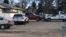 The maroon Chevrolet Avalanche was located by RCMP in the 5100 block of 38 Street.
