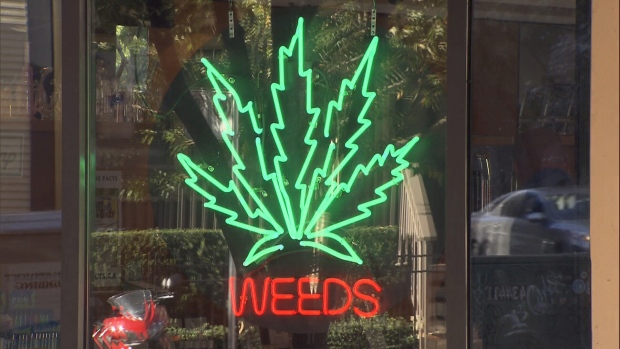 Weeds Glass and Gift Shop in Yaletown is seen in this image from Oct. 17, 2018.
