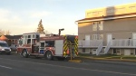 Fire breaks out in four-plex