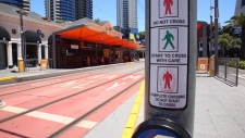 TransLink says the Surrey design will include designated, signal-controlled crosswalks at major intersections.