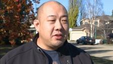 Edmonton homeowner Clem Ho