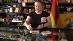"""""""Yesterday, we had a pretty busy day,"""" said store clerk Sherri Mombourquette.""""There was a lot of people coming in, a lot of questions being asked, and we sold a lot of vaporizer's and pipes."""""""