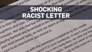 Family moving after racist, threatening letter