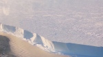 Ice shelf in Antarctica makes very strange noises