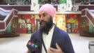 Federal NDP leader touring northern Ontario