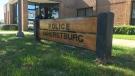 Amherstburg police building in Amherstburg, Ont., on Thursday, Oct. 18, 2018. (Rich Garton / CTV Windsor)
