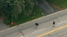 Markham pedestrian struck