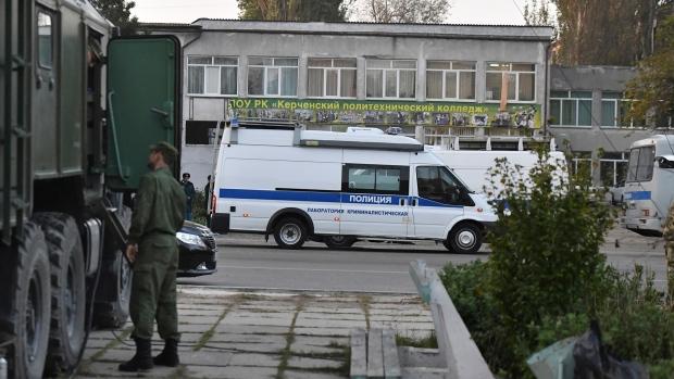 Attack at a vocational college in Crimea