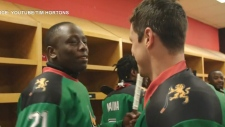 Sidney Crosby surprises Kenyan hockey team