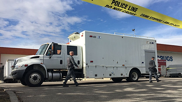 Calgary police were called to investigate a suspicious package found near the Peter Lougheed Centre on Thursday morning.