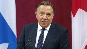 Francois Legault sworn in as Quebec premier