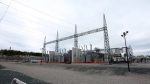 The Nalcor Energy Lower Churchill Project Soldiers Pond site, pictured on Wednesday June 27, 2018, is about 40 minutes outside of St. John's and is essential to deliver power from Muskrat Falls to the island of Newfoundland. (THE CANADIAN PRESS/Paul Daly)