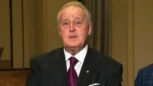 Former prime minister Brian Mulroney discusses the legalization of cannabis in Canada