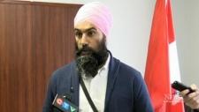 NDP leader visits northern Ontario