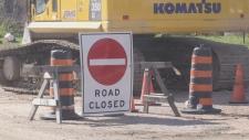 Construction delays on Trout Creek's new bridge
