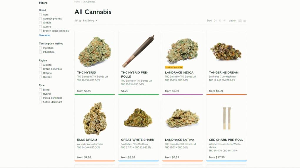 bc cannabis website