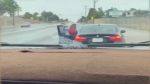 Teen steals mom's BMW, mom whips him with belt in