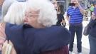 Grandma meets up with long lost siblings