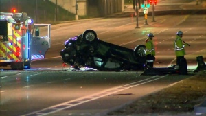 Drug impaired driving charge laid in Hwy.404 crash
