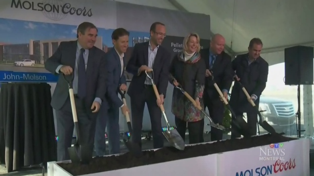 Molson Coors breaks ground on new Longueuil production and distribution centre