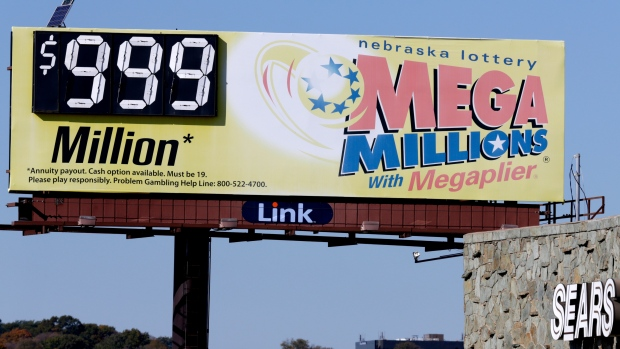 Mega Millions lottery ticket sales at