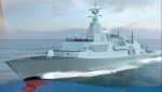 Public Services and Procurement Canada and Irving Shipbuilding have identified Lockheed Martin as the preferred bidder for the design of the Canadian Surface Combatant. Pictured is Lockheed Martin's proposed design for a Canadian frigate, which is based on the British-designed Type 26 frigate. (PUBLIC SERVICES AND PROCUREMENT CANADA/TWITTER)