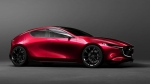 The expected inspiration for the 2019 Mazda 3, the Kai Concept. (Mazda)