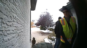 Suspects caught on hidden camera breaking into Calgary home   CTV News