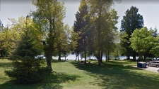 Cates Park is seen in an image from Google Street View.