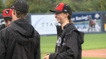 Woman stars for Carleton men's baseball team