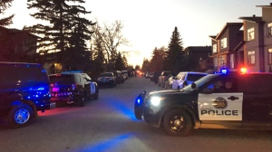 Stabbing victim in life threatening condition, police surround home in Montgomery   CTV News