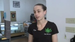 """For as close as we are, it seems like two separate worlds,"" said Kim McClintick, an employee at Calais, Maine pot dispensary Smoke on the Water."