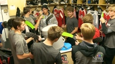 Island hockey teams embrace 'buddy check'