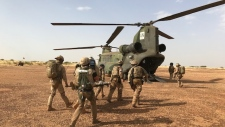Canadian peacekeepers in Mali