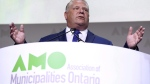 As communities across Ontario gear up for municipal elections later this month, a growing number of candidates face no competition at all. Ontario Premier Doug Ford speaks at the Association of Municipalities of Ontario in Ottawa on Monday, Aug. 20, 2018. THE CANADIAN PRESS/Justin Tang