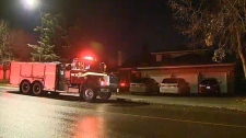 Two adults and two children escaped a home in Scenic Acres that caught fire late Friday night. No one was injured.