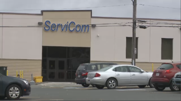 ServiCom call centre in Sydney, C.B. has filed for bankruptcy in the U.S., and employees have been told they won't be getting paid until the process is finalized.