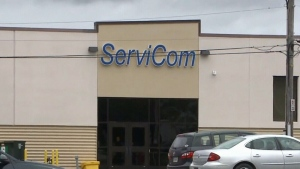 ServiCom in Sydney, N.S., has let go of hundreds of employees.