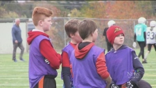 Moncton kids participate in flag football tourname