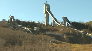 The ski jumping park at COP is scheduled to be removed on October 29, after the training season wraps up.