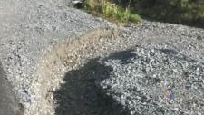 Road Washout Worries